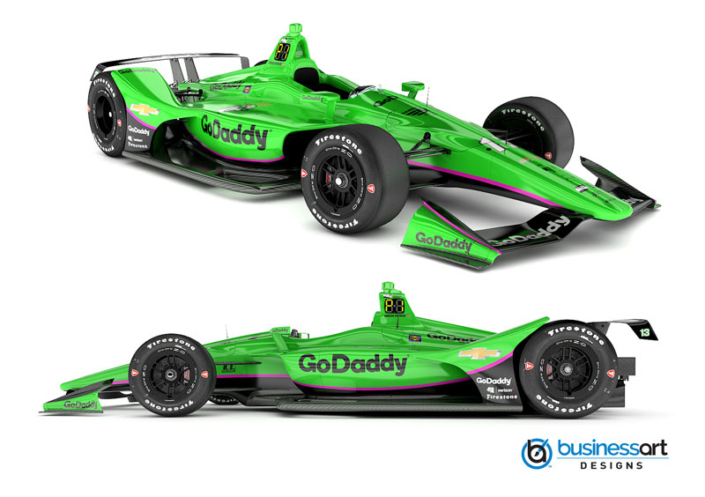 Go Daddy Livery Design