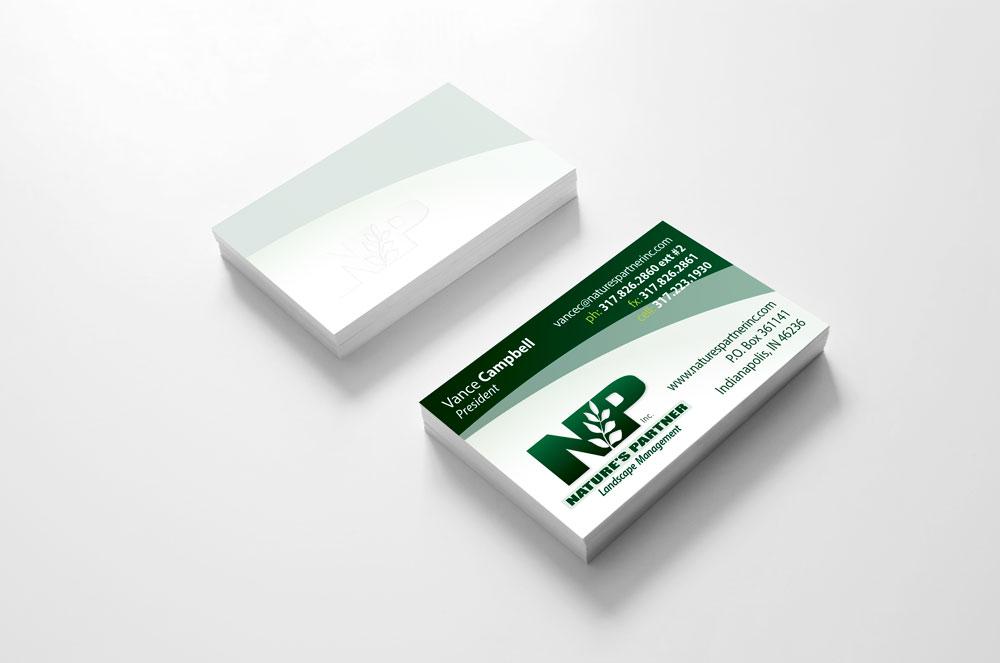NP Business Card design