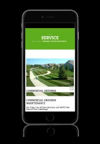 Wild Ridge Website on iPhone