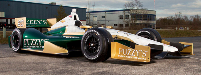 Ed Carpenter Racing Fuzzy's Vodka Livery