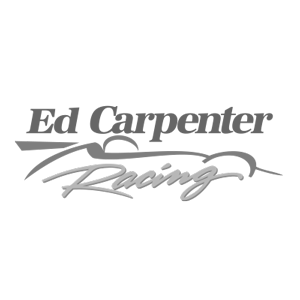 Ed Carpenter Racing Logo black and white