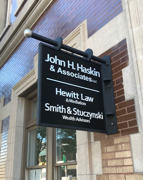 Hewitt Law Outdoor Sign