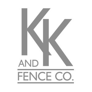 KK Fence co. Logo
