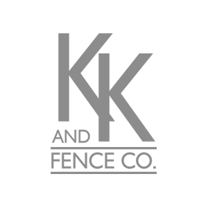 KK and Fence co. Logo