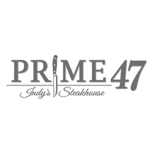 Prime47 Logo black and white