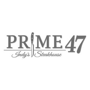 Prime47 Logo black and white