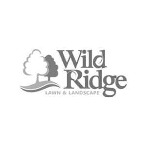 Wild Ridge logo black and white