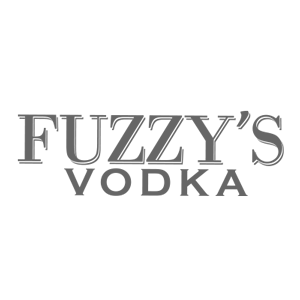 Fuzzy's Vodka Logo black and white