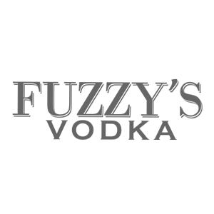 Fuzzy's Vodka Logo black and white