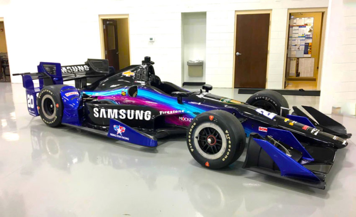 Samsung Livery Race Car wrap
