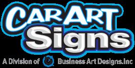 Car Art Signs Logo