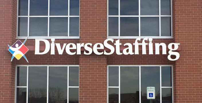 Diverse Staffing Exterior Sign