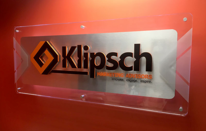 Klipsch Marketing Advisors Interior Sign