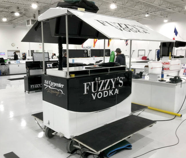 Fuzzy's Vodka Timing Stand