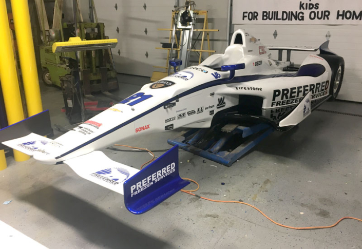 Preferred Freezer Services Livery Wrap