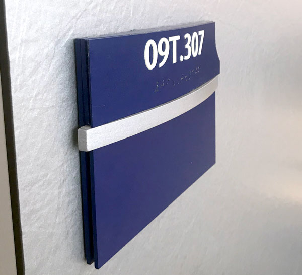 ADA Directional sign