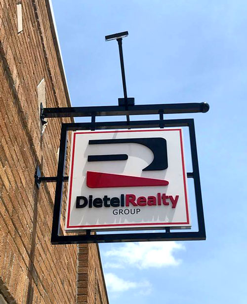 Dietel Realty Group Exterior Sign