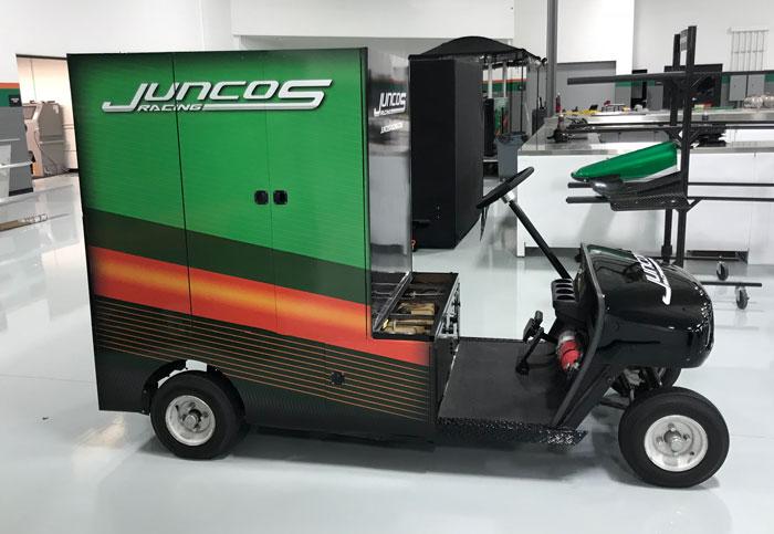 Juncos Racing Cart Wrap