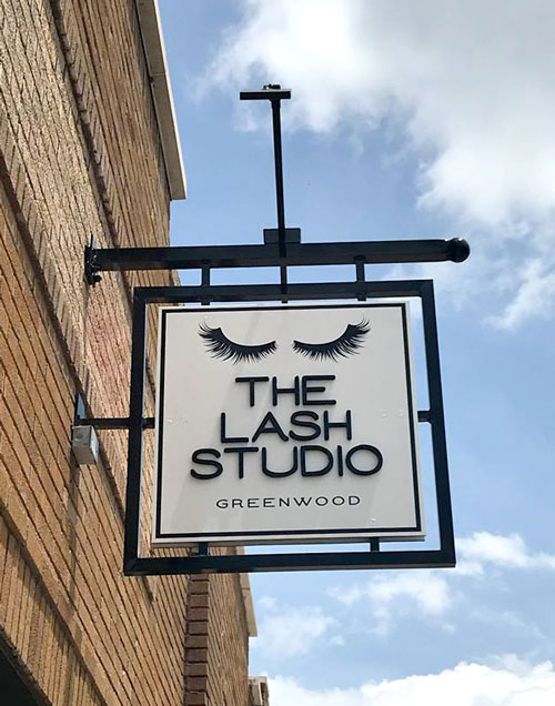 The Last Studio Exterior Sign