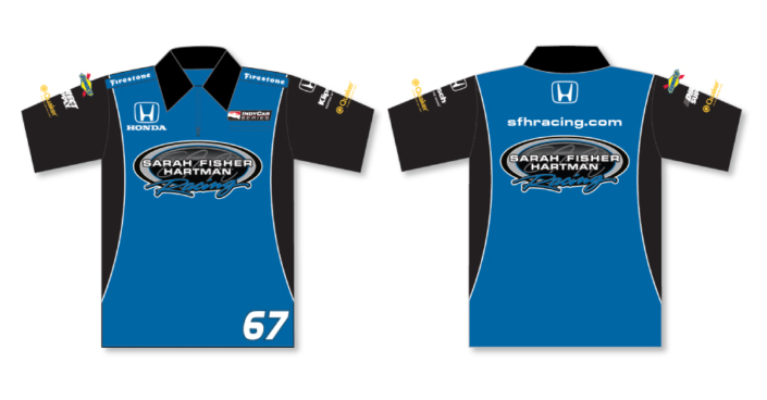 Sarah Fisher Hartman Crew Shirts