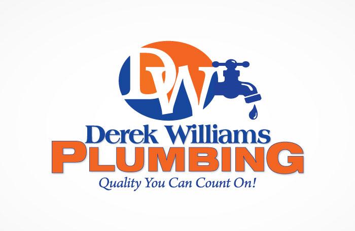 Derek Williams Plumbing Logo