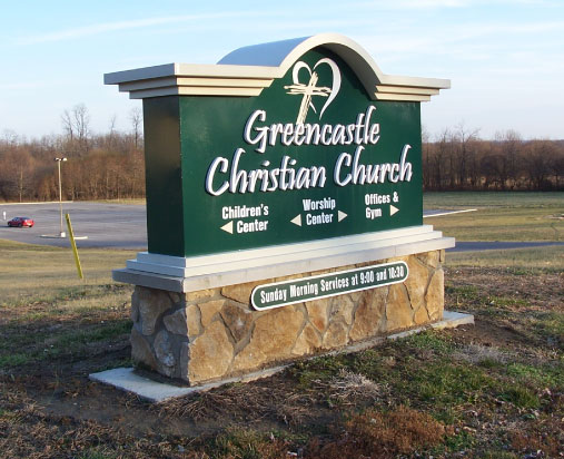Greencastle Christian Church Exterior Sign