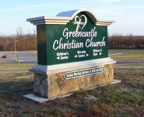 Greencastle Christian Church Exterior Sign