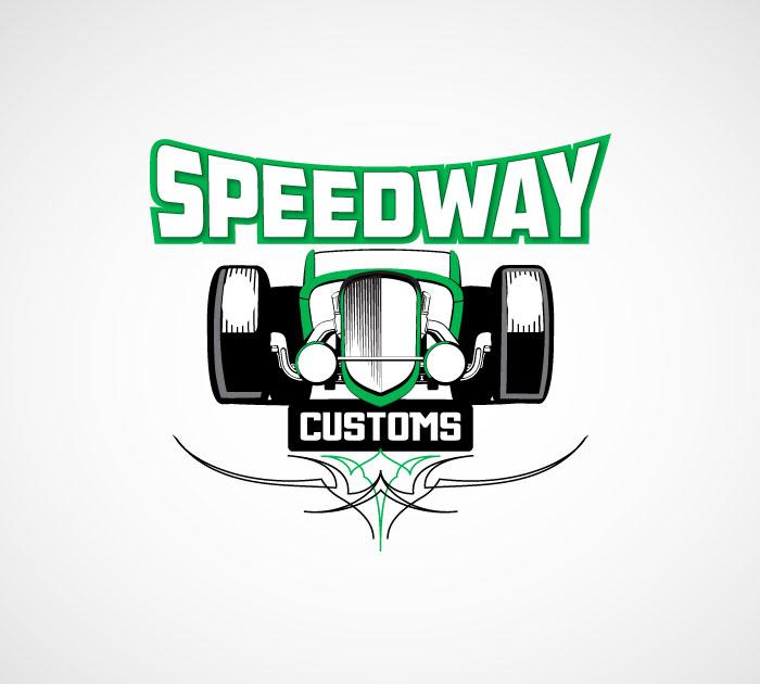 Speedway Customs Logo