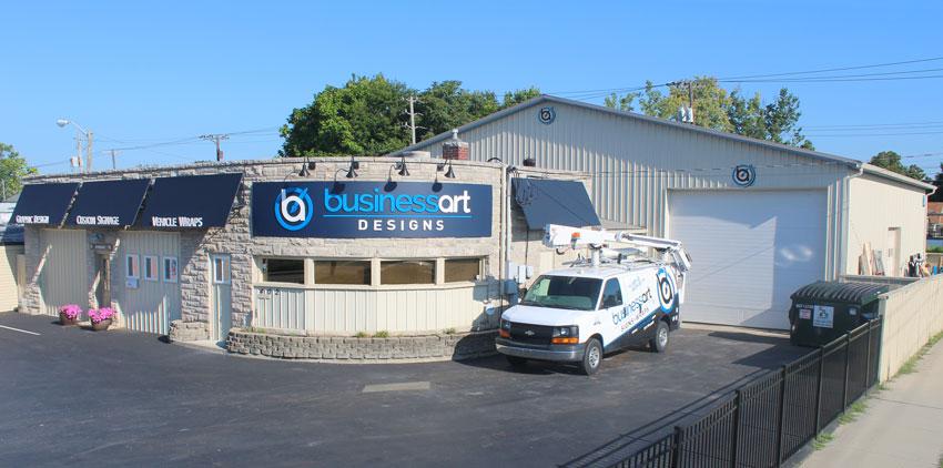 Business Art DeSigns Shop Front