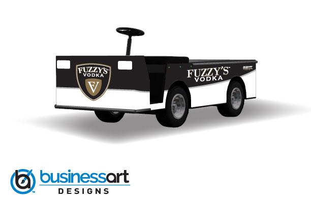 Fuzzy's Vodka 2018 Pit Cart