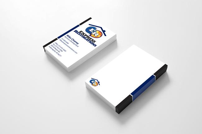 Express Restorations Business Cards