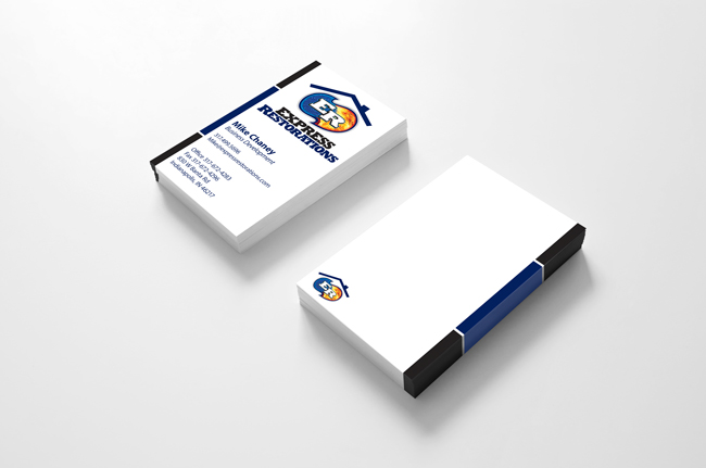 Express Restorations Business Cards