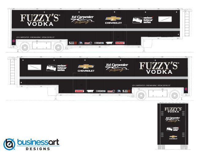 Fuzzy's Vodka 2018 Transporter