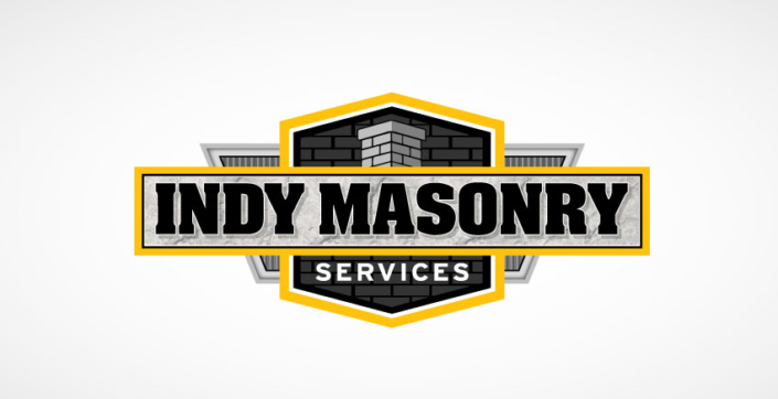 Indy Masonry Service Logo Colored