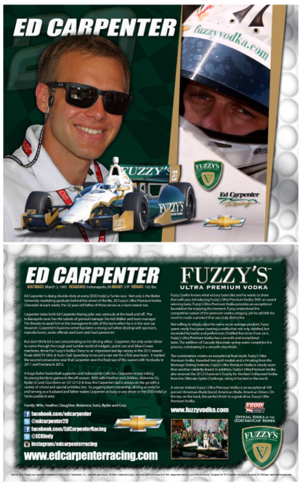 Ed Carpenter Hero Card