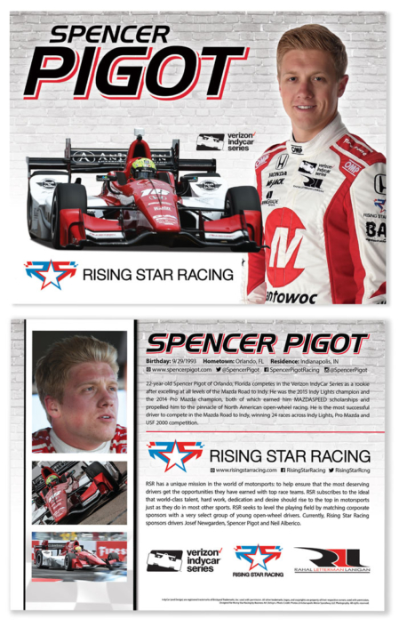 Spencer Pigot Hero Card