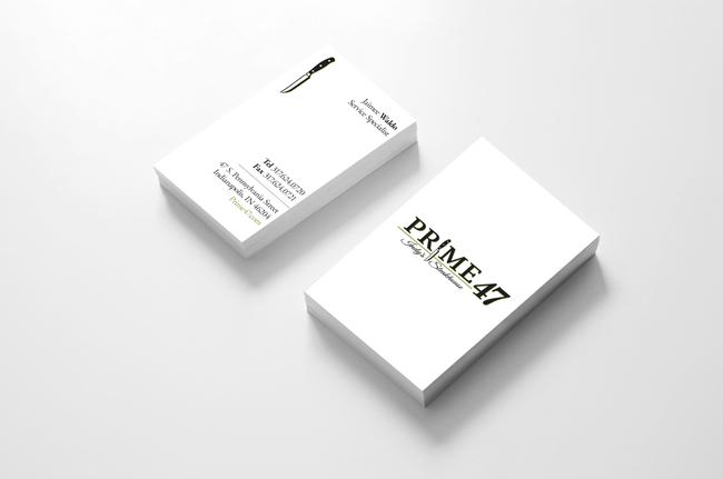 Prime 47 Jaimee Waldo Business Card Design