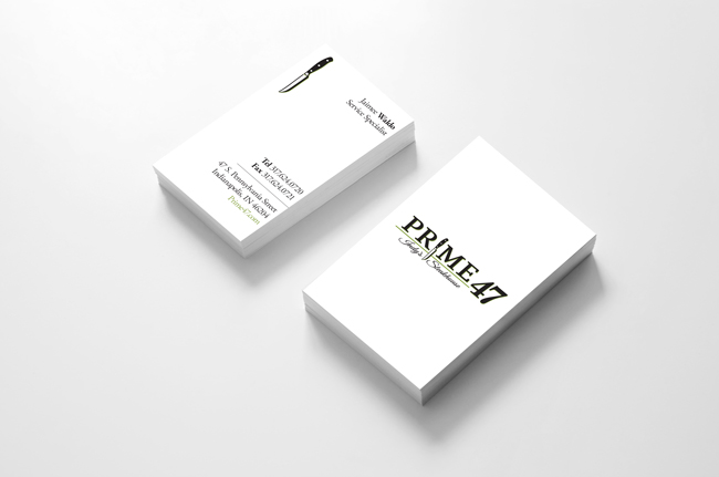 Prime 47 Jaimee Waldo Business Card Design