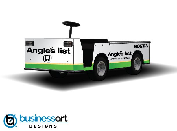 Angie's List Pit Cart Design