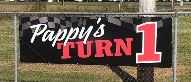 Pappy's Turn 1 Banner
