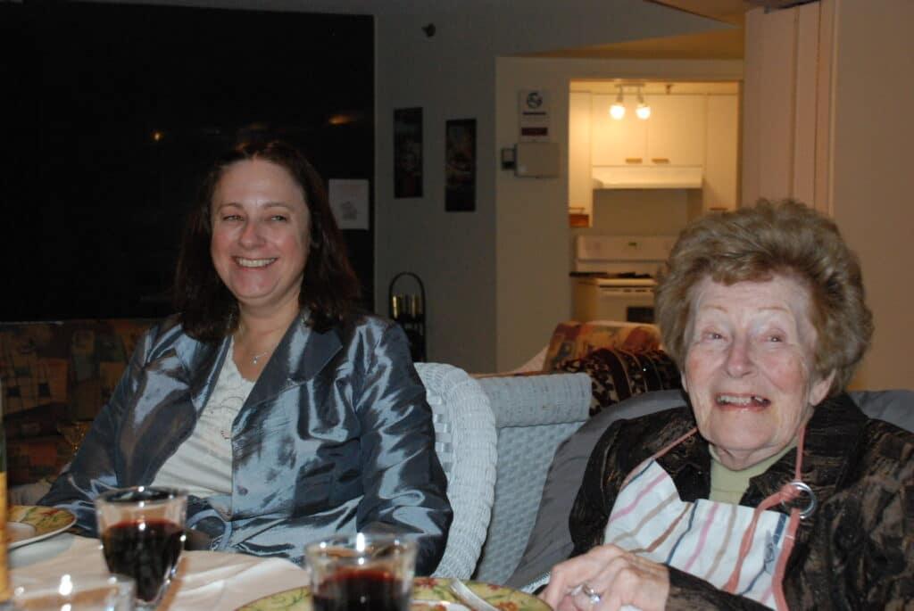 Marielle et Guille Savard. Guille était atteinte de la maladie d'Alzheimer.