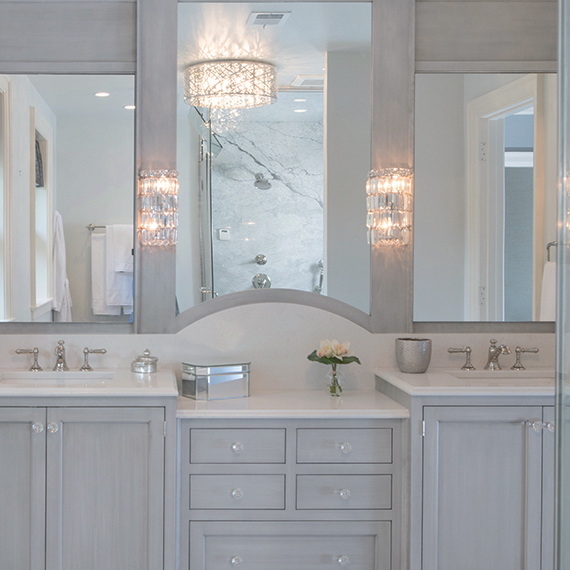 Kitchen Studio:KC - Symphony Designer's Showhouse Master Bathroom