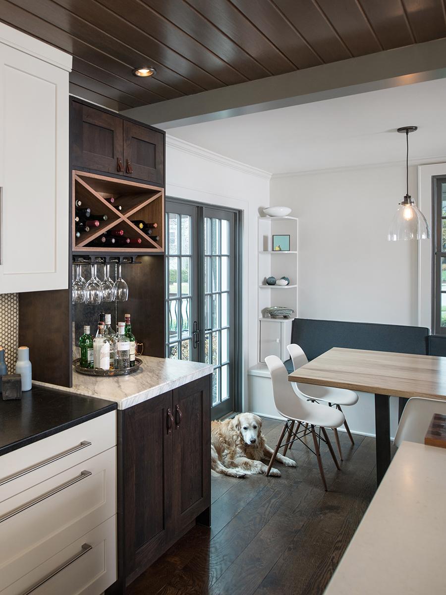 Kitchen Studio:KC - Brookside White Cottage Kitchen