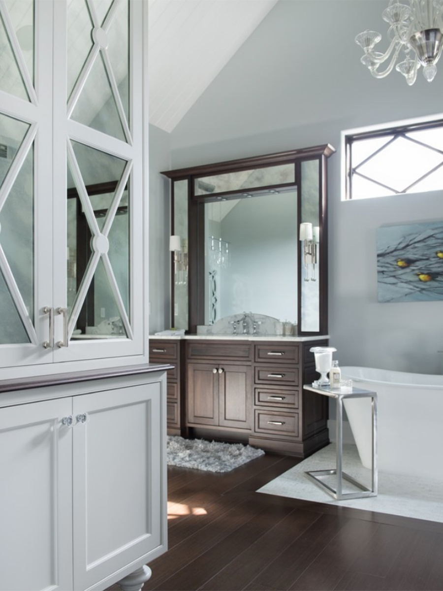 Kitchen Studio,- Classically Glamorous Bathroom