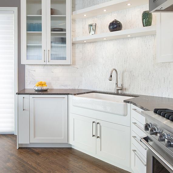 Plaza Transitional Home Remodel - Kitchen Studio KC