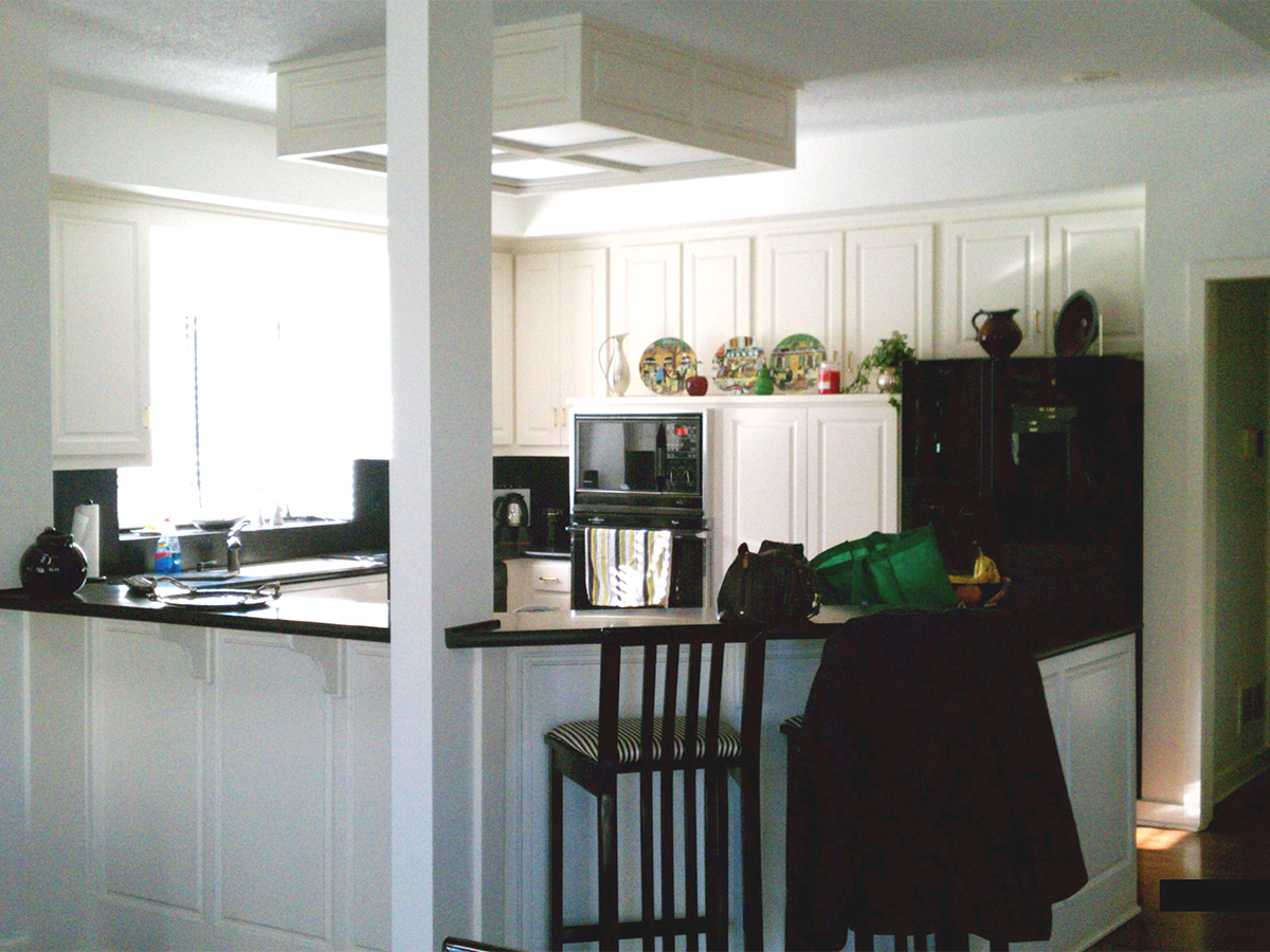 Kitchen Design Process - Before