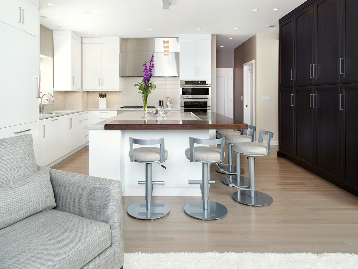 Kitchen Studio: KC - Leawood Contemporary Kitchen Design