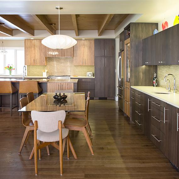 Kitchen Studio: KC - Warm Exotic Contemporary Kitchen