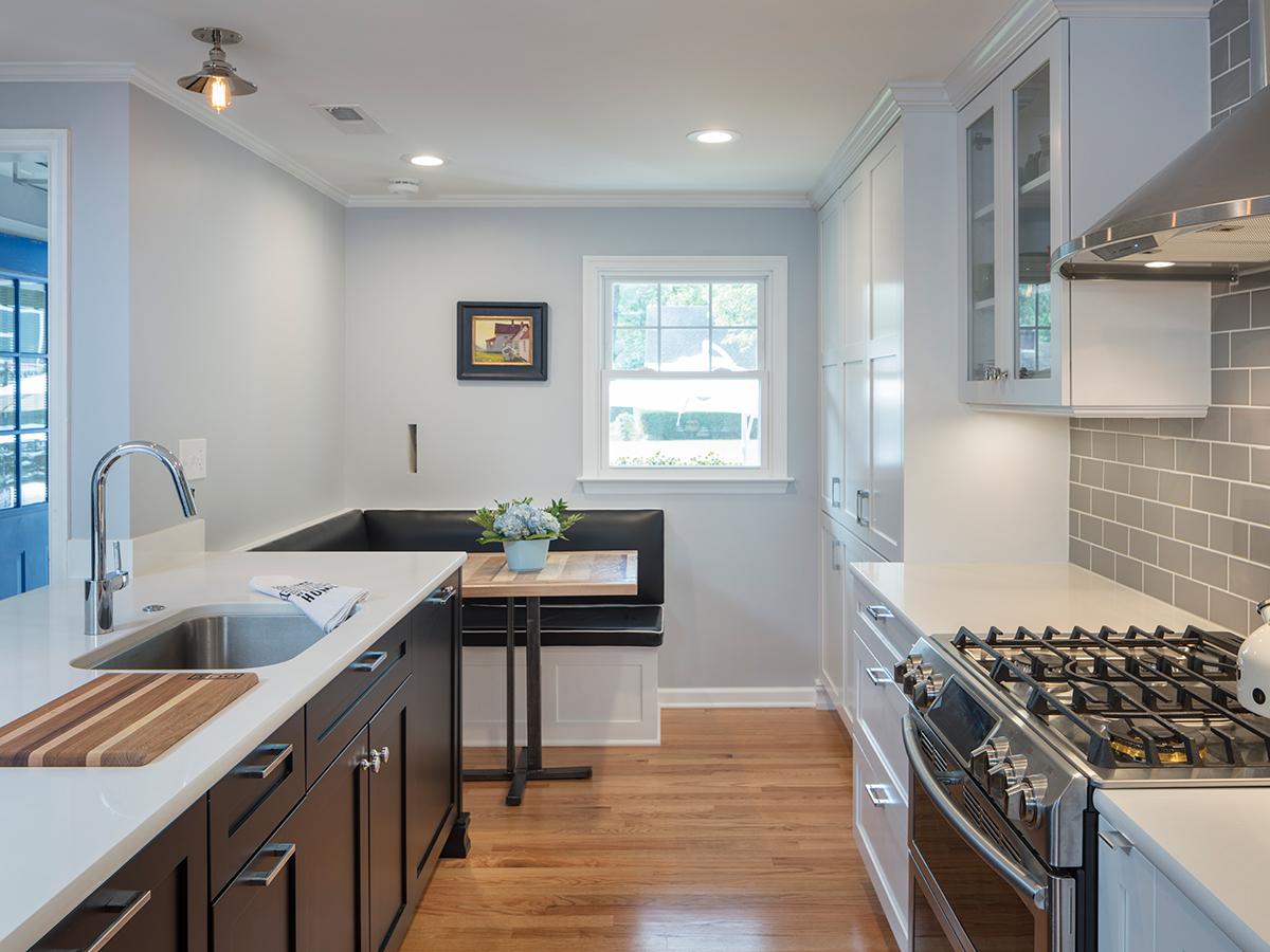 Kitchen Studio:KC - Prairie Village Retro Kitchen Remodel