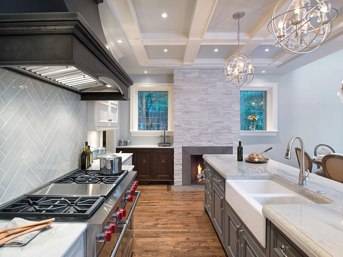 Kitchen Studio: KC - Kansas City's 45th Symphony Designer's Showhouse Kitchen